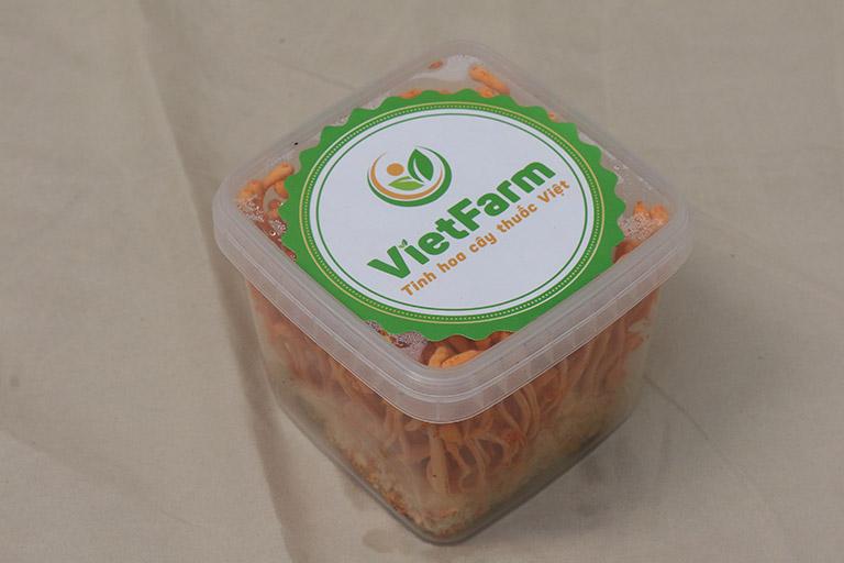 Sản phẩm Đông trùng hạ thảo sinh khối Vietfarm