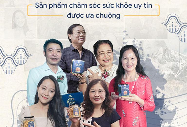 Các nghệ sĩ ưu tú, diễn viên tin dùng các sản phẩm của Vietfarm
