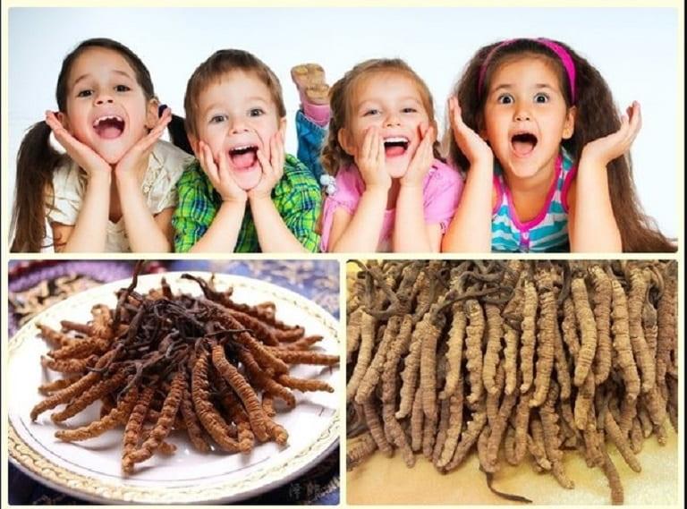 Trẻ em có nên uống đông trùng hạ thảo không?