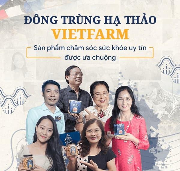 Rất nhiều nghệ sĩ, diễn viên nổi tiếng tin dùng sản phẩm của Vietfarm