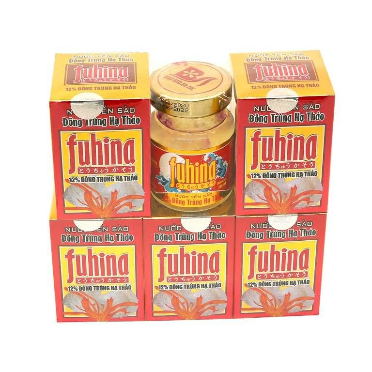 Nước yến trùng thảo Fuhina chứa nhiều dưỡng chất