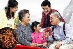 Thường xuyên sử dụng đông trùng hạ thảo giúp người già thoải mái, thư giãn