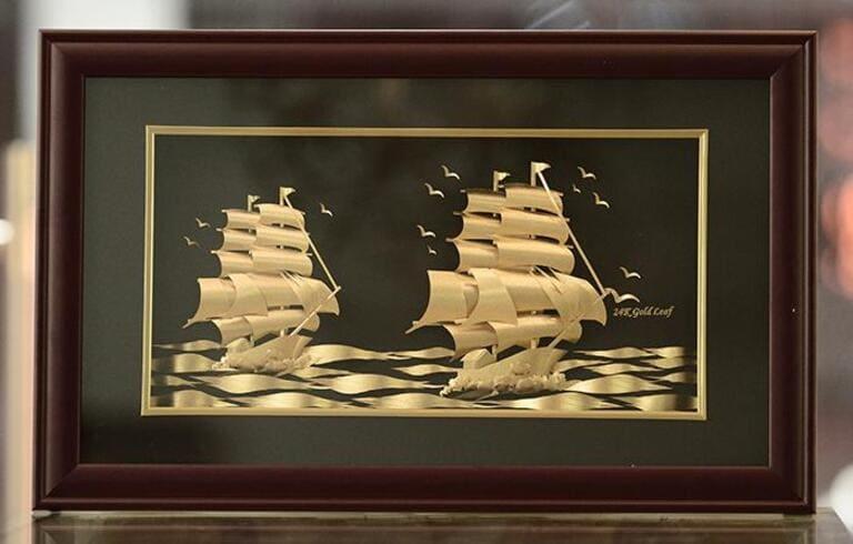 Thuận buồm xuôi gió là bức tranh phong thủy ý nghĩa cho giới kinh doanh