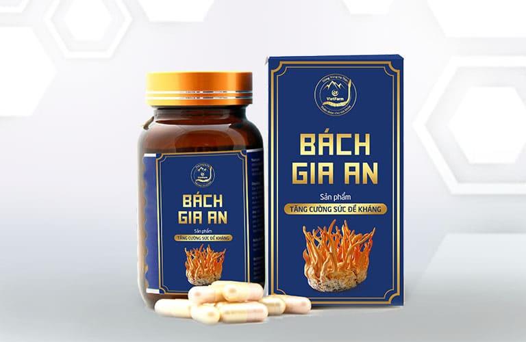 Thực phẩm chức năng - viên uống đông trùng hạ thảo Bách Vị Tiêu của Vietfarm là món quà tặng sức khỏe cho mẹ chồng