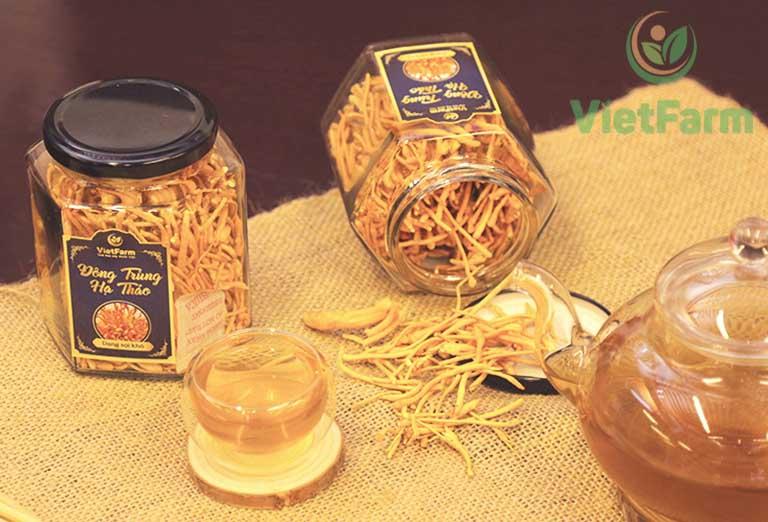 Đông trùng hạ thảo Vietfarm là sản phẩm chất lượng