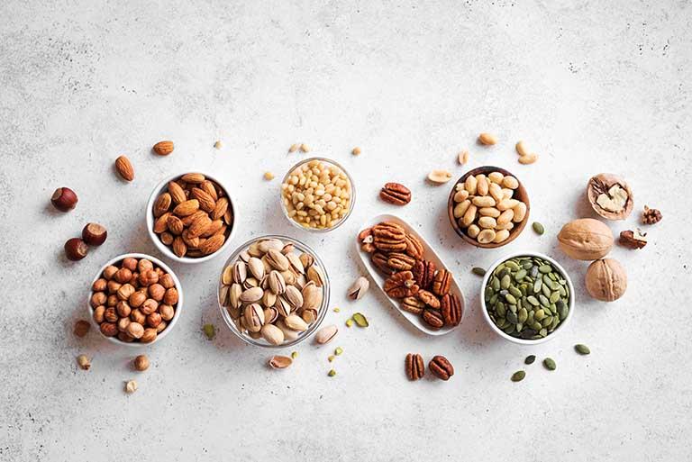 Hạt dinh dưỡng tốt cho sức khỏe