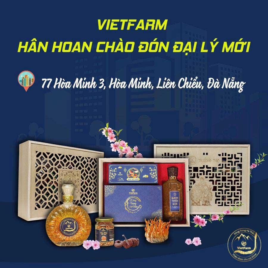 Đông trùng hạ thảo Vietfarm khai trương đại lý mới tại Đà Nẵng